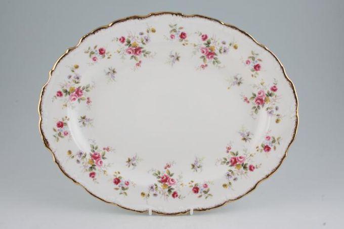 """Royal Albert Tenderness Oval Plate / Platter 16"""""""