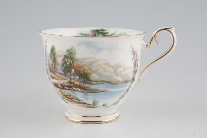 """Royal Albert Traditional British Songs Teacup Road to the Isles 3 1/2 x 3"""""""
