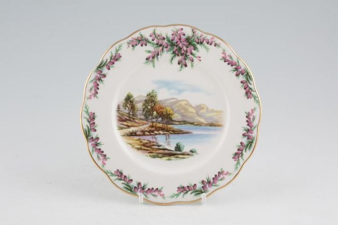 """Royal Albert Traditional British Songs Tea / Side Plate Road to the Isles 6 1/4"""""""