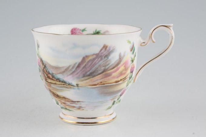 "Royal Albert Traditional British Songs Teacup Bonnie Banks o' Loch Lomon' 3 1/2 x 3"""