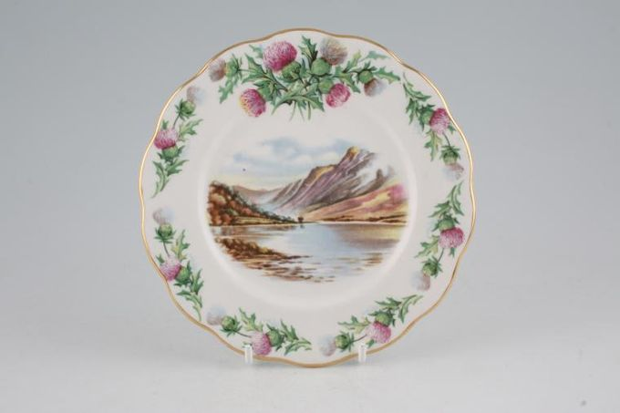 Royal Albert Traditional British Songs Tea / Side / Bread & Butter Plate Bonnie Banks o' Loch Lomon' 6 1/4""