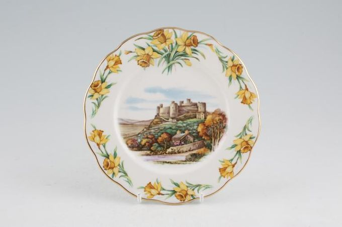 "Royal Albert Traditional British Songs Tea / Side / Bread & Butter Plate Men of Harlech 6 1/4"""