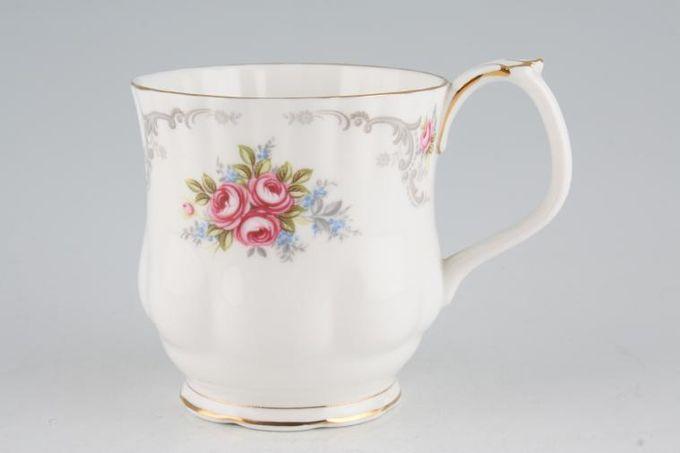 "Royal Albert Tranquility Mug Montrose - Ribbed 3 1/4 x 3 3/8"""