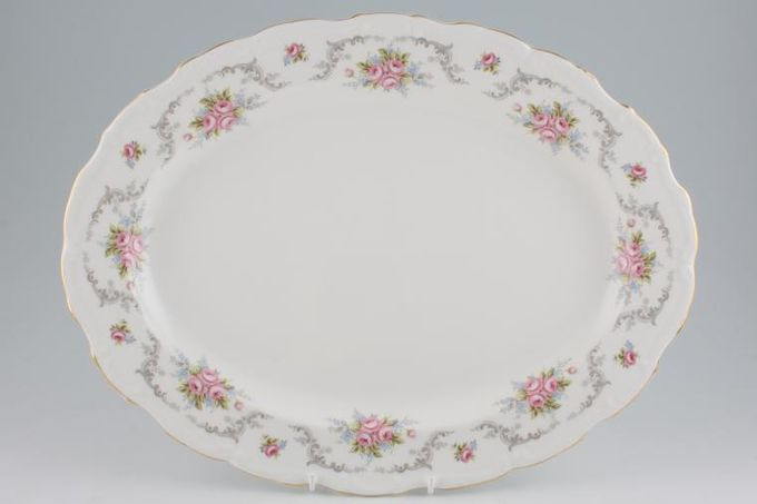 Royal Albert Tranquility Oval Plate / Platter 16 1/4""