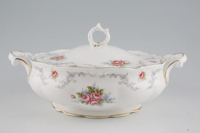Royal Albert Tranquility Vegetable Tureen with Lid