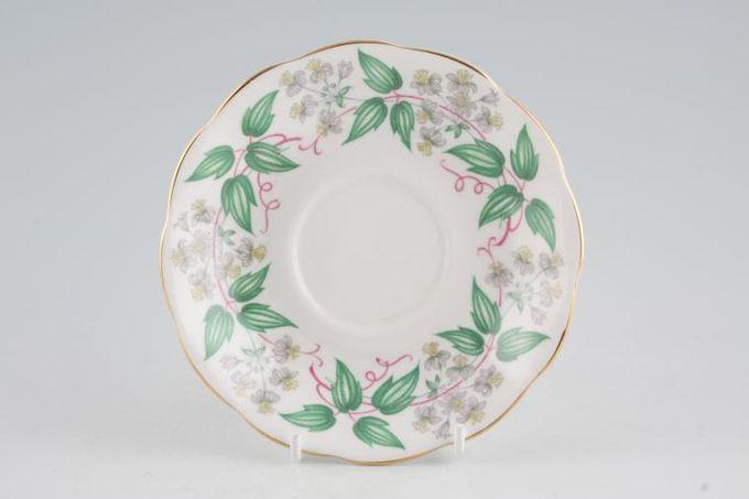 "Royal Albert Travellers Joy Tea Saucer 5 5/8"""