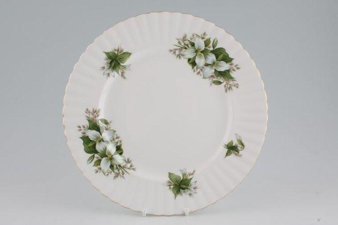 """Royal Albert Trillium Dinner Plate 10 1/2"""""""