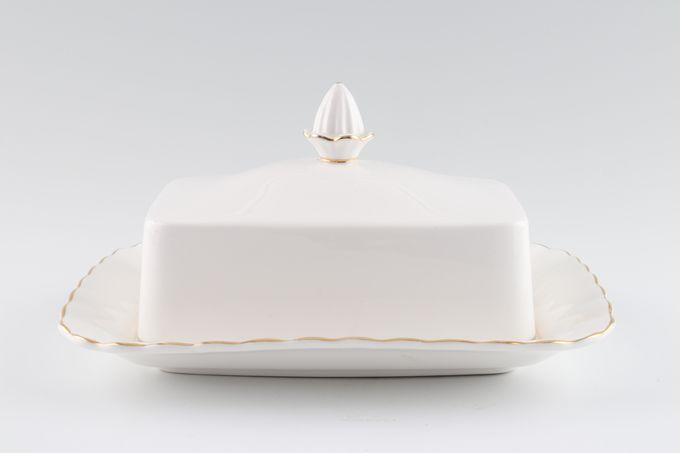 Royal Albert Val D'Or Butter Dish + Lid Rectangular