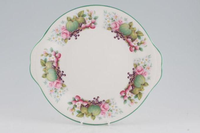 Royal Albert Village Green Cake Plate Round