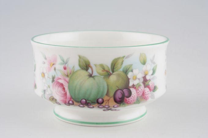 "Royal Albert Village Green Sugar Bowl - Open (Coffee) 3 1/2"""