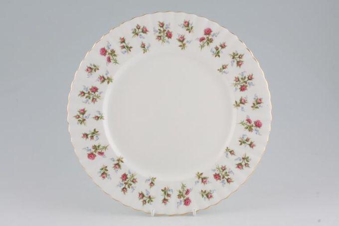 "Royal Albert Winsome - Pink+Green Dinner Plate 10 1/2"""