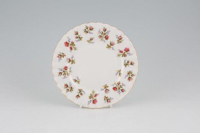 "Royal Albert Winsome - Pink+Green Tea / Side / Bread & Butter Plate 6 1/4"""