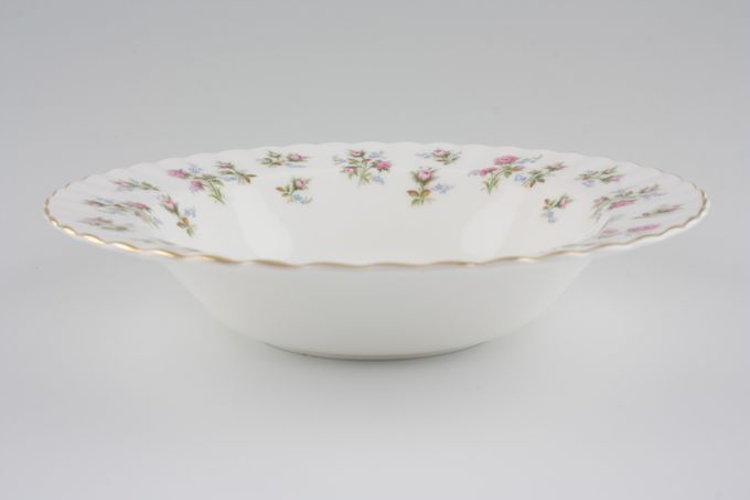 """Royal Albert Winsome - Pink+Green Rimmed Bowl 8"""""""