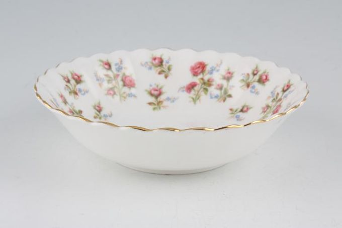 Royal Albert Winsome - Pink+Green Oatmeal / Cereal / Soup 6 1/4""