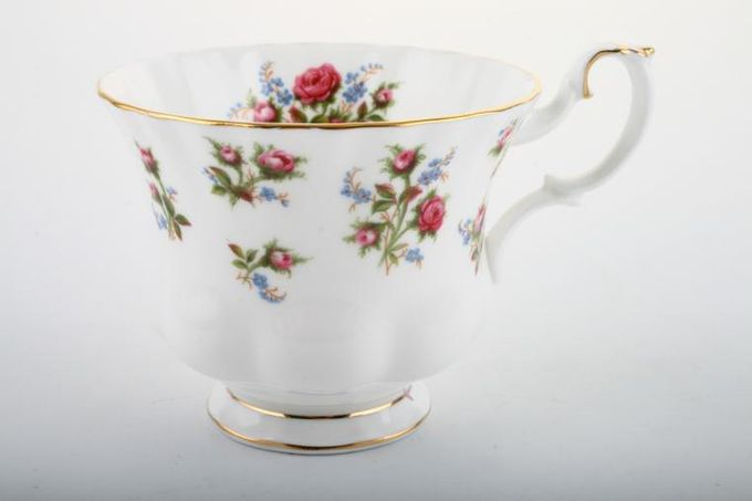 Royal Albert Winsome - Pink+Green Teacup 3 1/2 x 2 3/4""