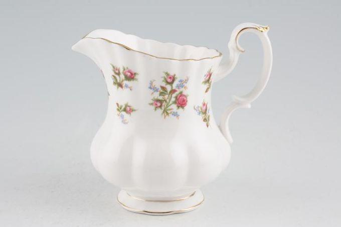 Royal Albert Winsome - Pink+Green Milk Jug 1/2pt