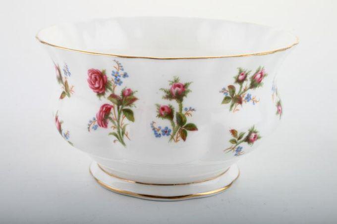 "Royal Albert Winsome - Pink+Green Sugar Bowl - Open (Tea) 4 1/4"""