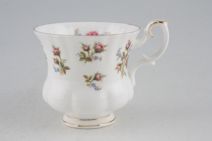 """Royal Albert Winsome - Pink+Green Coffee Cup 3 x 2 5/8"""""""