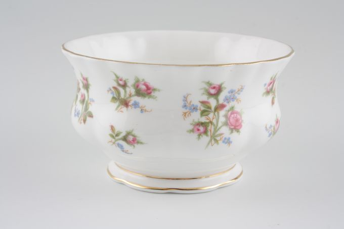 Royal Albert Winsome - Pink+Green Sugar Bowl - Open (Coffee) 3 3/4""