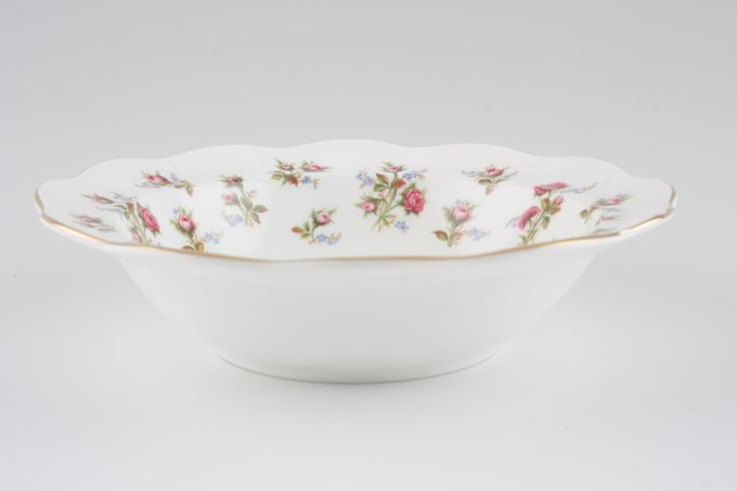 """Royal Albert Winsome - Pink+Green Rimmed Bowl 6 5/8"""""""