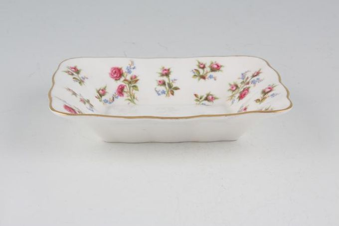 Royal Albert Winsome - Pink+Green Dish (Giftware) 5 x 4""
