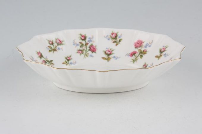 "Royal Albert Winsome - Pink+Green Dish (Giftware) 5 7/8"""