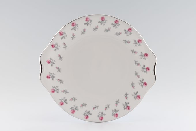 Royal Albert Winsome - A2924 - Pink + Grey Cake Plate Round