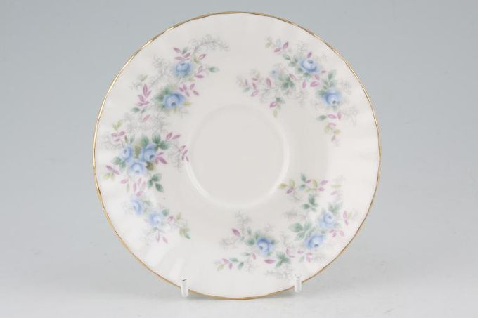 "Royal Albert Blue Blossom Tea Saucer 5 1/2"""