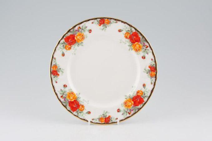 "Royal Albert Pacific Rose Starter / Salad / Dessert Plate 8 1/8"""