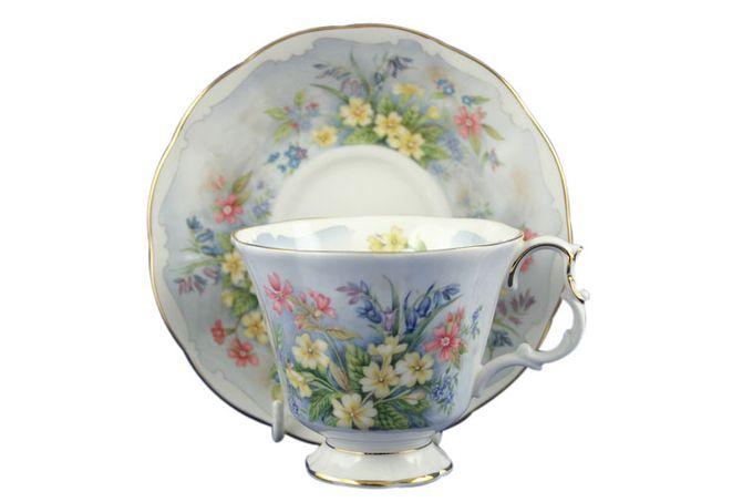 Royal Albert Primrose Beds Tea Saucer