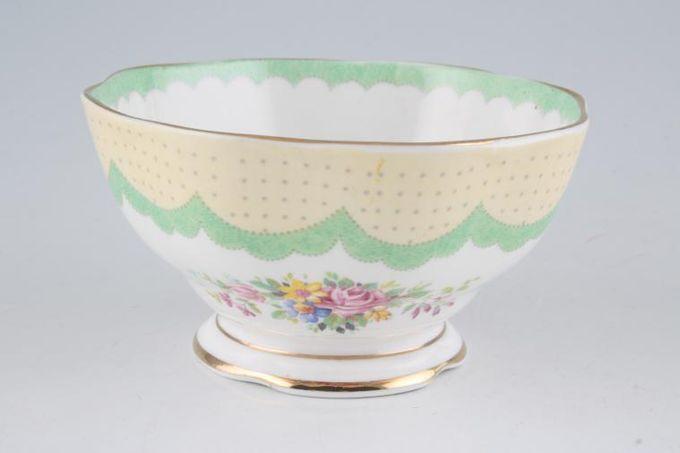 "Royal Albert Prudence Sugar Bowl - Open (Tea) 4 1/2"""