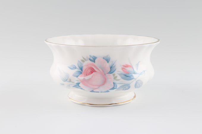 "Royal Albert Sorrento - Gold Edge Sugar Bowl - Open (Tea) Wavy Edge 4 1/2"""
