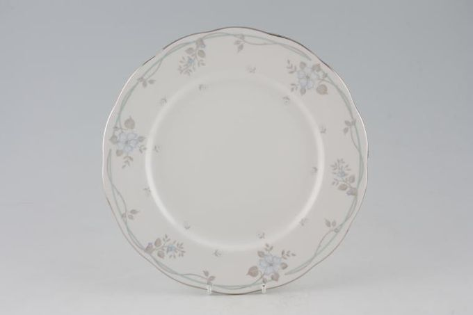 Royal Albert Satin Rose Dinner Plate 10 1/2""