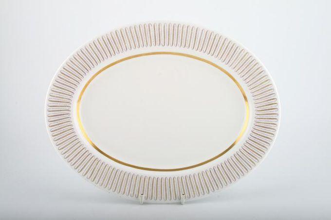 """Royal Albert Capri Oval Plate / Platter 13"""""""