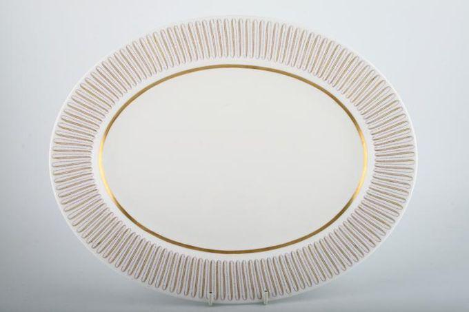 """Royal Albert Capri Oval Plate / Platter 15 1/4"""""""