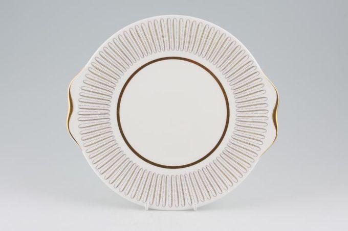 "Royal Albert Capri Cake Plate Round 9 5/8"""