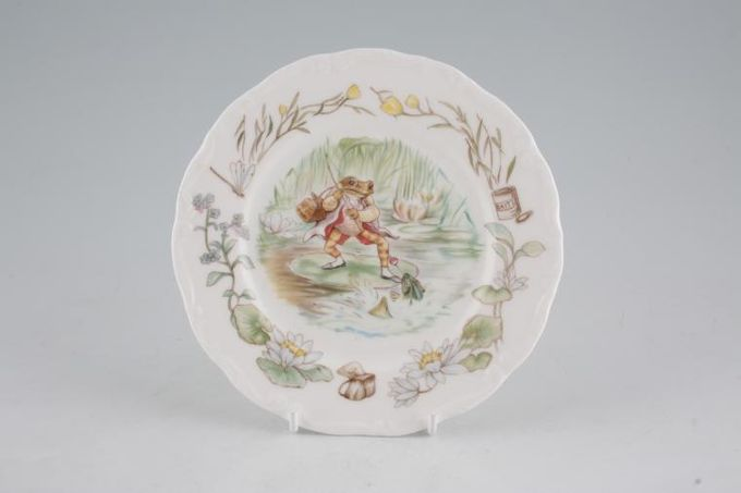 Royal Albert World of Beatrix Potter (The) Tea / Side / Bread & Butter Plate Mr Jeremy Fisher - Round 6 1/8""