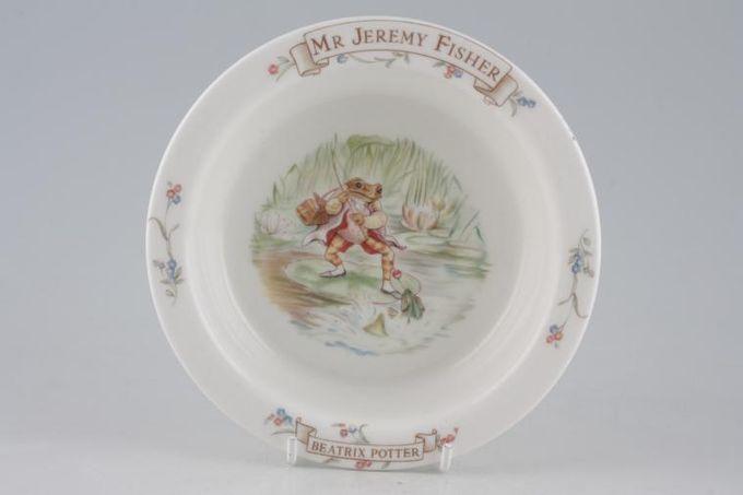 """Royal Albert World of Beatrix Potter (The) Porringer Mr Jeremy Fisher 6 3/8"""""""