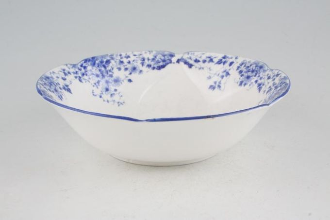 Royal Albert Dainty Blue Oatmeal / Cereal / Soup 6 1/4""