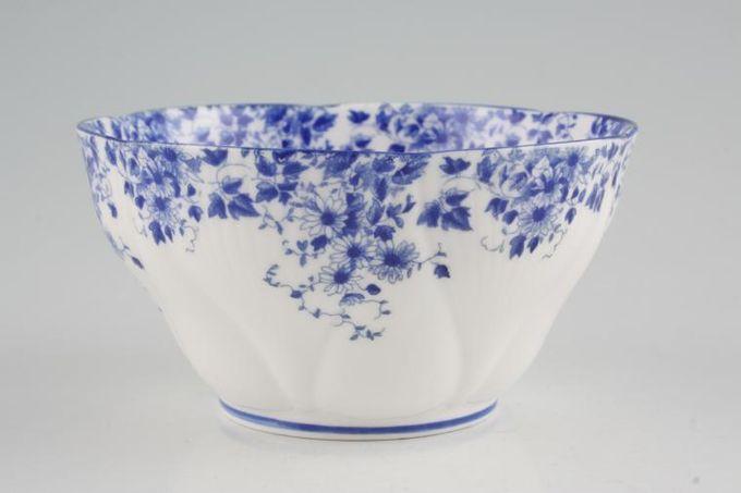 "Royal Albert Dainty Blue Sugar Bowl - Open (Tea) 4 1/2"""