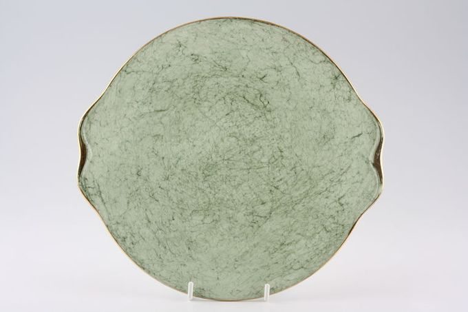 Royal Albert Gossamer - Green Cake Plate Only made in this colour 9 5/8""