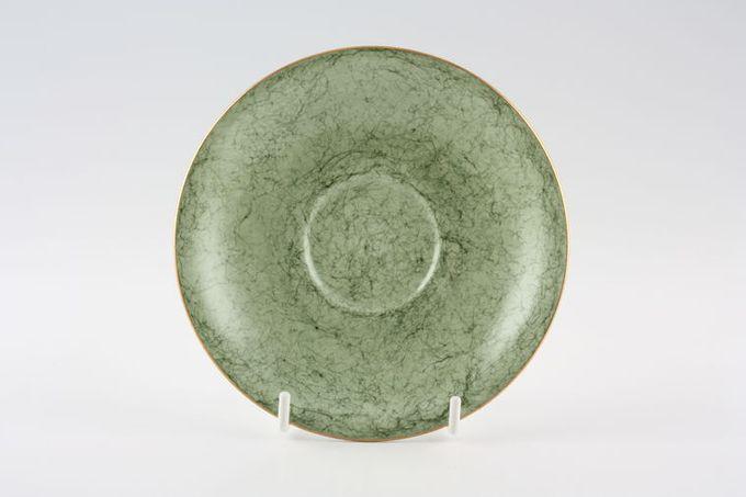 """Royal Albert Gossamer - Green Tea Saucer 5 1/2"""""""