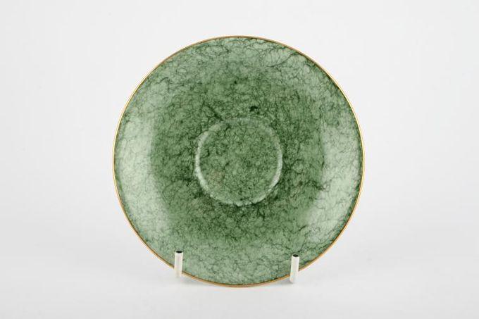 """Royal Albert Gossamer - Green Coffee Saucer 5"""""""