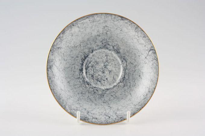 "Royal Albert Gossamer - Grey Tea Saucer 5 1/2"""
