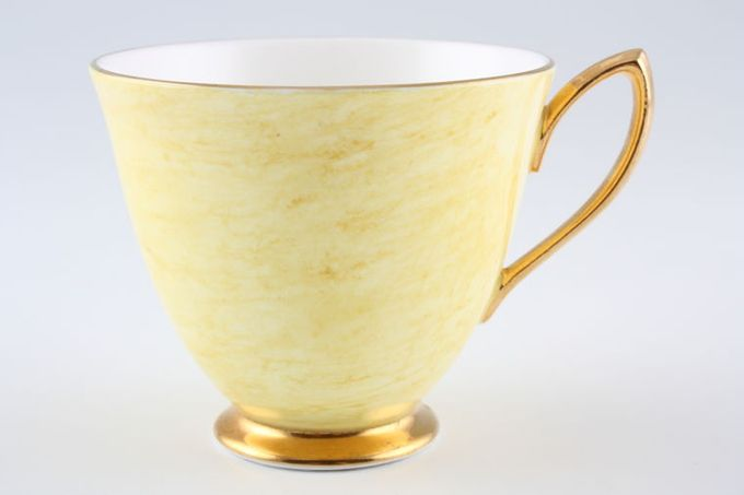 Royal Albert Gossamer - Yellow Teacup Pointed handle 3 1/4 x 2 7/8""