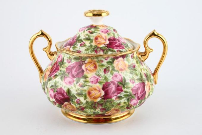 Royal Albert Old Country Roses - Chintz Collection Sugar Bowl - Lidded (Tea)