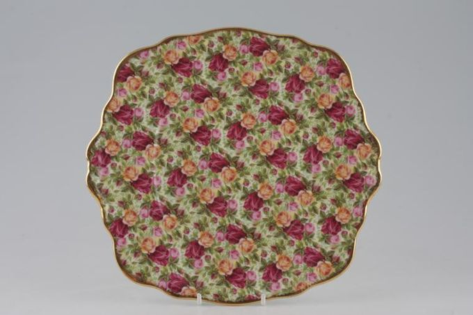 Royal Albert Old Country Roses - Chintz Collection Cake Plate 9 3/4""