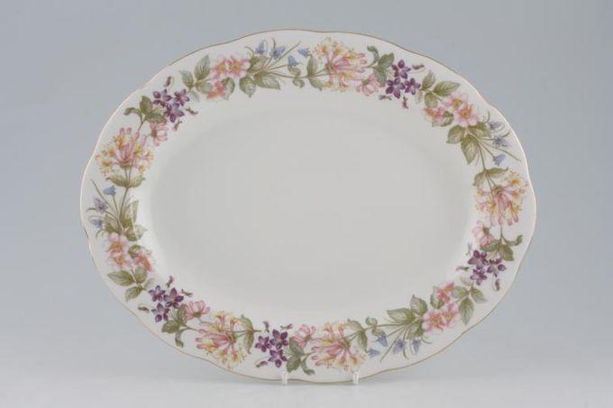 """Royal Albert Country Lane Oval Platter 13 1/2"""""""