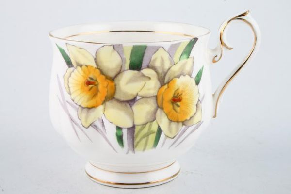 Royal Albert Flower of the Month Series - Hand Painted - Daffodil No.3