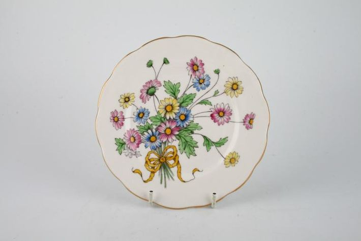 Royal Albert Flower of the Month Series - Hand Painted - Daisy No.4 - Multi
